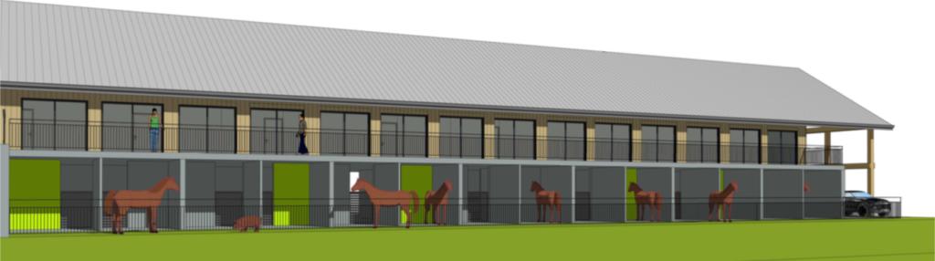 Le centre équestre Juventin s'agrandit et a un projet de bâtiment dédié à la pension de chevaux à Grenoble, Chambéry et ALbertville